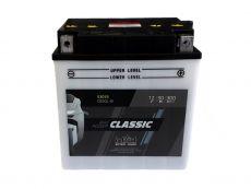 Batterie 12V 30Ah, YB30L-B, DIN 53036, mit Säurepaket