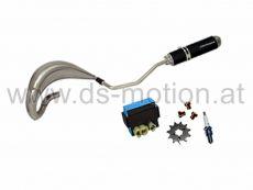Tuning Kit DS RACING Edelstahl für D50B Motor E4, Aprilia RX, SX, Derbi Senda R, SM