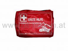 Verbandszeug rot 14x10x3 cm für Motorrad und Moped aus wasserabweisendem Nylonmaterial