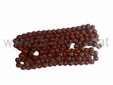 Kette 420H, 1/2x1/4, rot, verstärkt, 140 Glieder