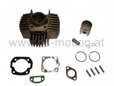 Zylinder Puch, Airsal Racing, 50 ccm, Alu ohne Kopf, KB 12 mm, Puch Maxi