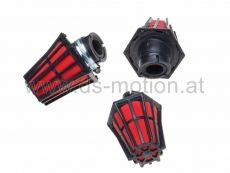 Luftfilter Racing High Performance Ø = 35 mm, rot, 45°