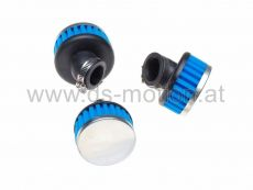 Luftfilter Racing High Performance Ø = 32 mm, blau, 45°