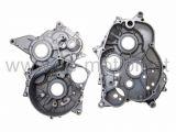 Motorgehäuse (Kurbelwellengehäuse), AM6 mit E-Starter, Aprilia, Generic, Keeway, Malaguti, MBK, Motorhispania, Peugeot, Rieju, Yamaha