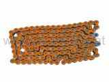 Kette 420H, 1/2x1/4, orange, verstärkt, 140 Glieder