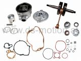 Motorreparatursatz AM6 Motor, Racing 70 ccm, DS Racing, Aprilia -2005, Beta, Generic Trigger, HRD, Keeway, Malaguti, MBK, Motorhispania, Peugeot, Ride, Rieju, Yamaha