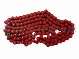 Kette 420H, 1/2x1/4, rot, hyper verstärkt, 138 Glieder