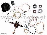 Motorreparatursatz AM6 Motor, Standard 50 ccm, DS Racing, Aprilia -2005, Beta, HRD, Generic Trigger, Keeway, Malaguti, MBK, Motorhispania, Peugeot, Ride, Rieju, Yamaha