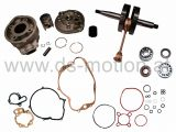 Motorreparatursatz AM6 Motor, Sport 50 ccm, DS Racing, Aprilia -2005, Beta, Generic Trigger, HRD, Keeway, Malaguti, MBK, Motorhispania, Peugeot, Ride, Rieju, Yamaha