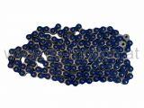 Kette 420H, 1/2x1/4, blau, verstärkt, 140 Glieder