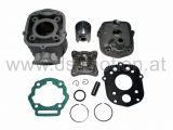 Zylinder Derbi D50B, 50 ccm, Alu mit Kopf, DS Racing, Derbi Senda 2006-, Aprilia RS 2006-, RX, SX 2006-, RS4, Derbi GPR 2006-, Gilera RCR 2006-, SMT 2006-